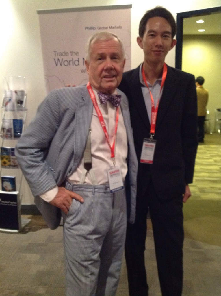 Lunch with Jim Rogers