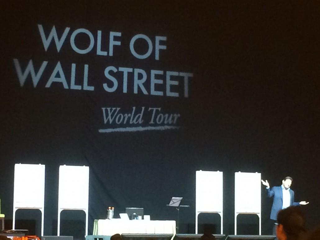 The Wolf of Wallstreet - World Tour