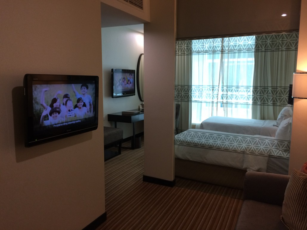 Wow, 2 Television Sets in the Room!