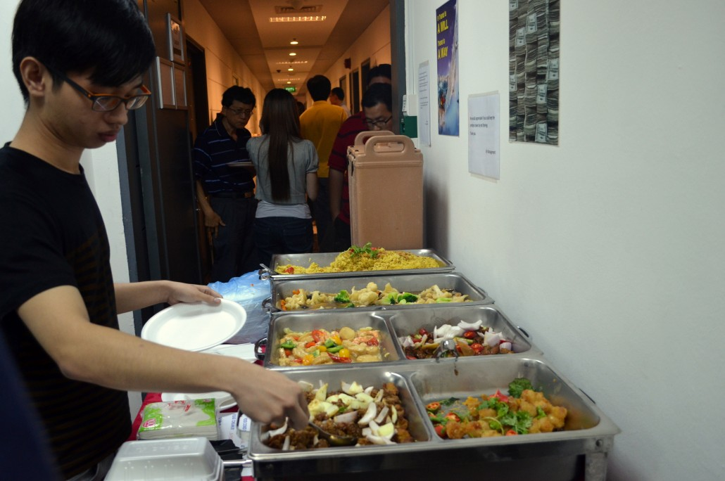 The Synapse Program Q3 2014 – Buffet Lunch looks Yummy! :D