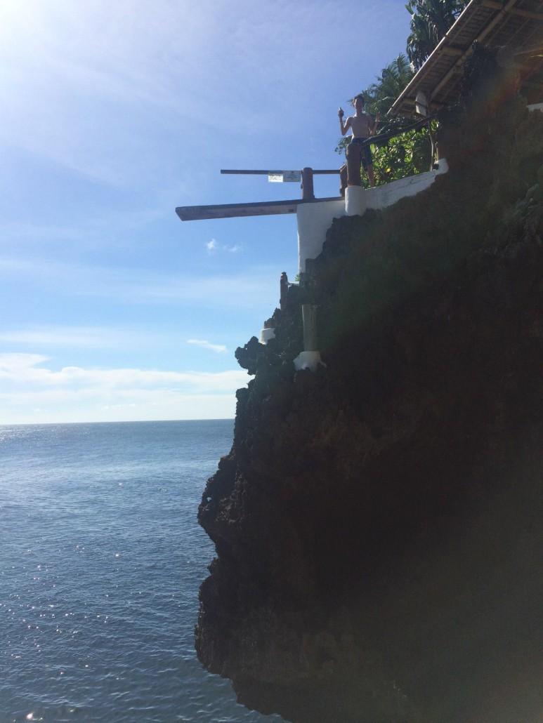 cliff diving level 2