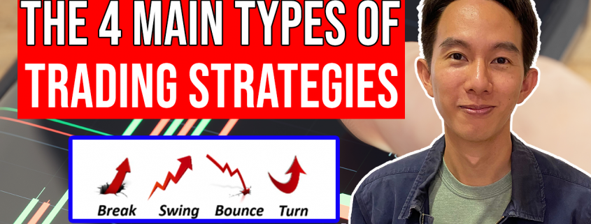 the 4 main types of trading strategies