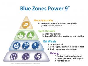 blue zones power of 9