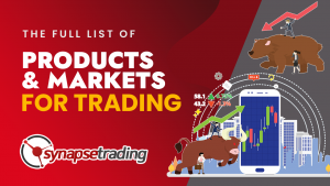 thumbnail the full list of products and markets for trading